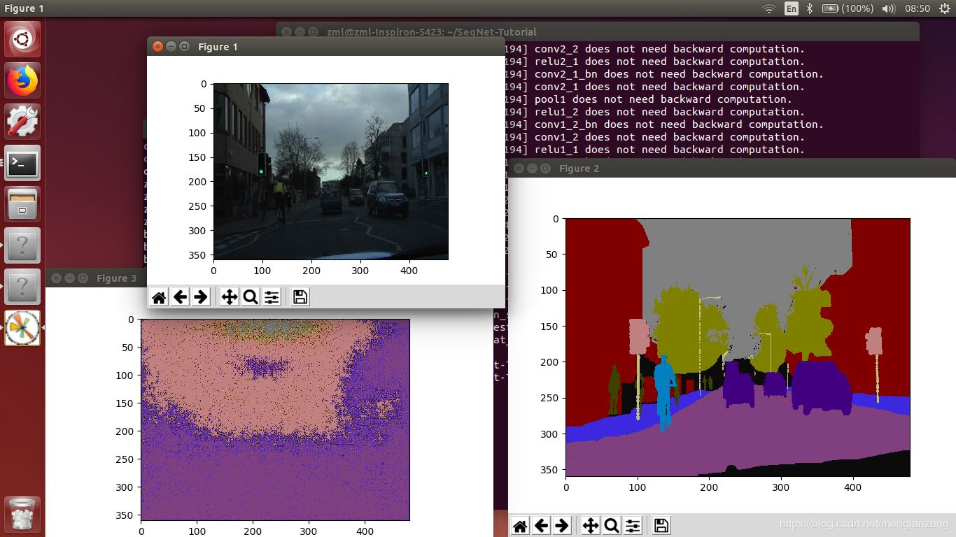 segnet  CPU教程:训练  测试