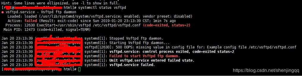一次尴尬的Linux vsftpd服务启动失败事件- 神评网