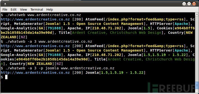 网站指纹识别工具——WhatWeb v0.4.7发布