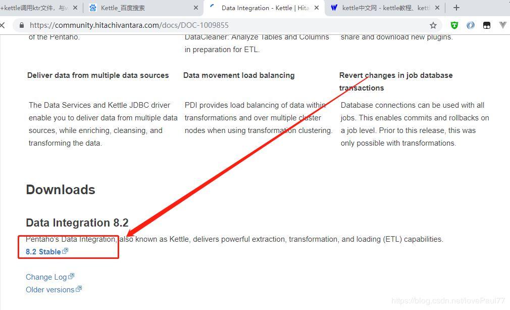 Kettle学习(2):服务器中java项目调用Kettle转换脚本ktr
