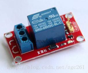 单片机控制5v继电器模块