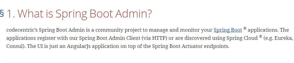 SpringBoot | 第二十八章:监控管理之Spring Boot Admin使用