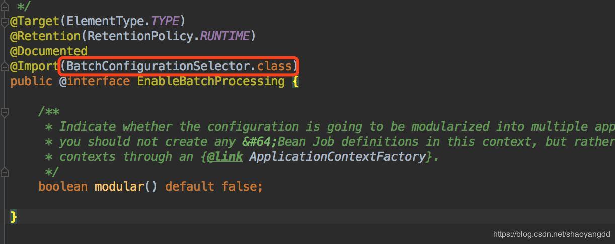 SpringBatch源码解析之SpringBatch加载配置(一)