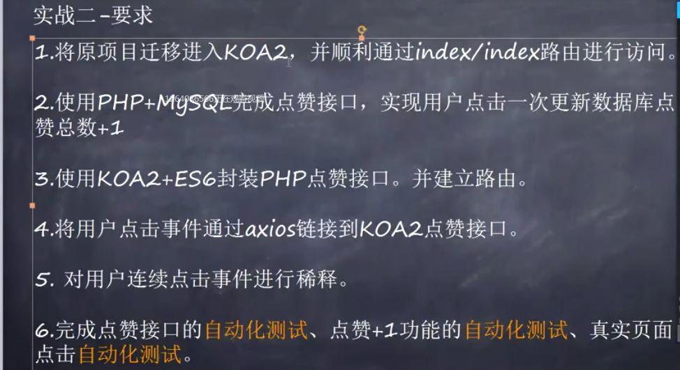 NodeJS实战--使用NodeJS实现前后端的联调