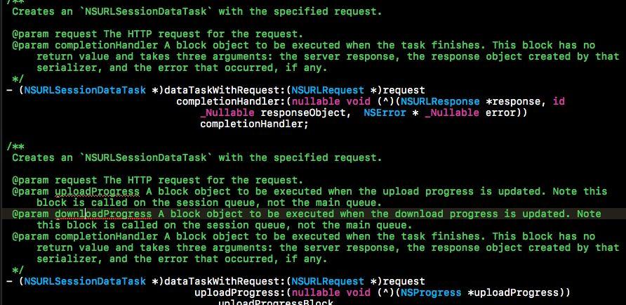 这个是什么情况? Xcode 8.0 中居然在注释中 报警告