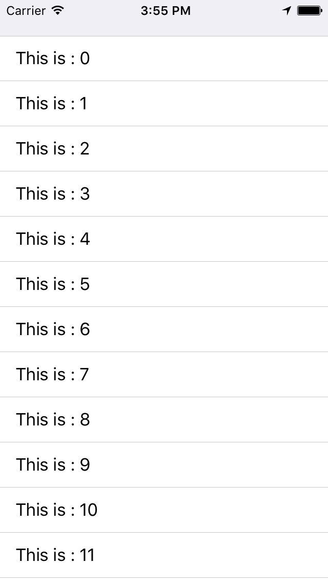 iOS:让tableView的Cell的分割线左对齐