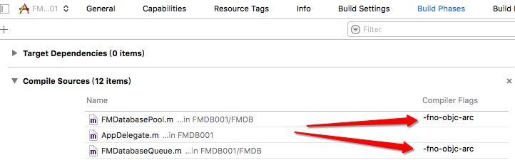 FMDB中SQL增删改查