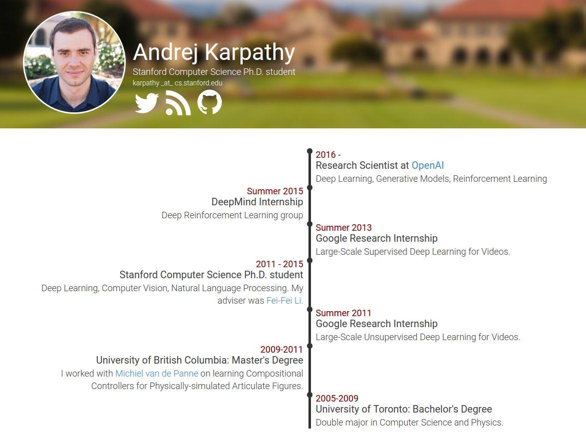 [中/英双语] Andrej Karpathy:A Survival Guide to a PhD (一)