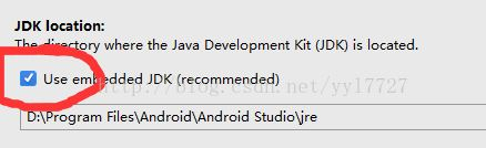 """Android studio创建project时出现报错:""""Gradle error : Write access is allowed from event dispatch thread only"""