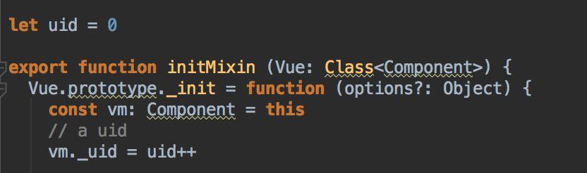 Vue源码翻译之组件初始化。