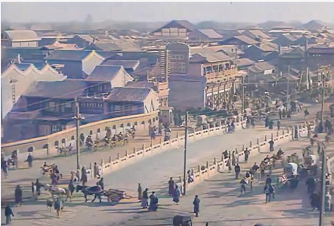 真大神!AI 修复百年前民国北京影像,网友:仿佛穿越了